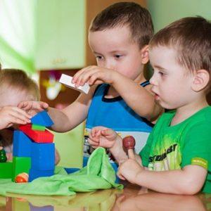 """Развивающие занятия """"РОСТОК 2 - 3 года"""" @ Детская студия """"Город друзей"""""""