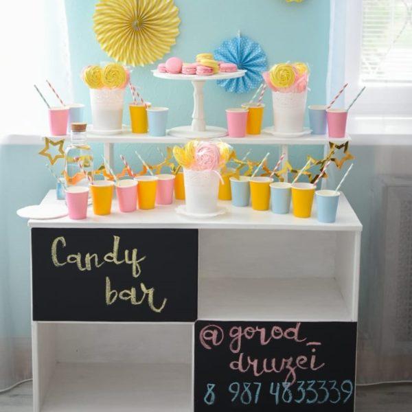 Candy bar в студии Город друзей