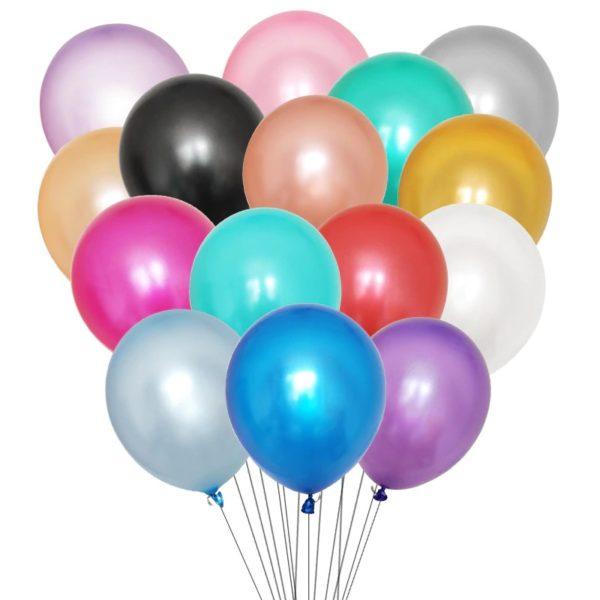 Воздушный шар однотонный с гелием в студии Город друзей