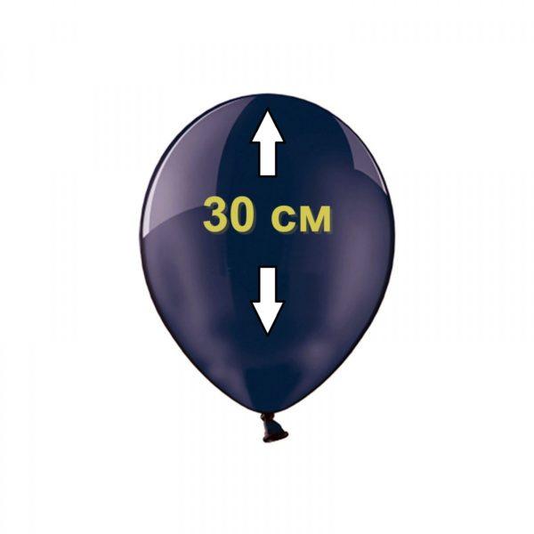 Заправка гелием шара 30 см в студии Город друзей