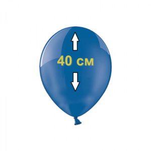 Заправка гелием шара 40 см в студии Город друзей